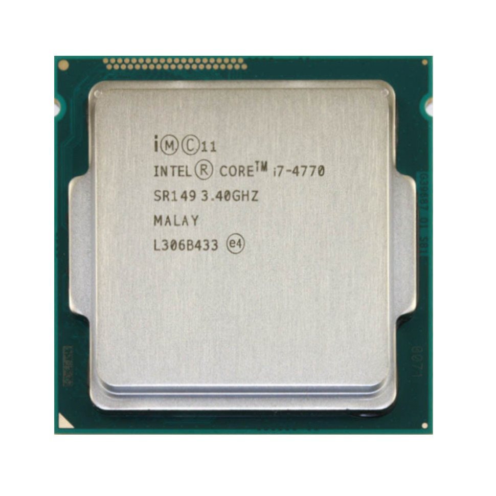 Процессор Intel Core i7 4770 (4×3.40GHz/8Mb/s1150) БУ