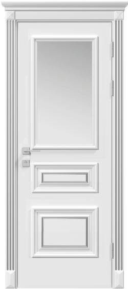 Дверь межкомнатная Rodos Siena Rossi ПО