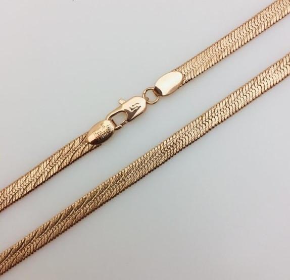 Цепочка Жгут, ширина 5 мм, длина 50 см, ювелирная бижутерия