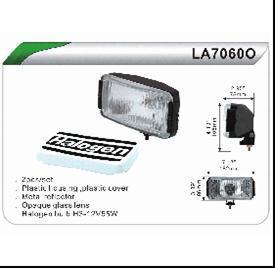 Фари протитуманні DLAA LA 7060 OW/WESEM 2HP/2HRZ /кришка