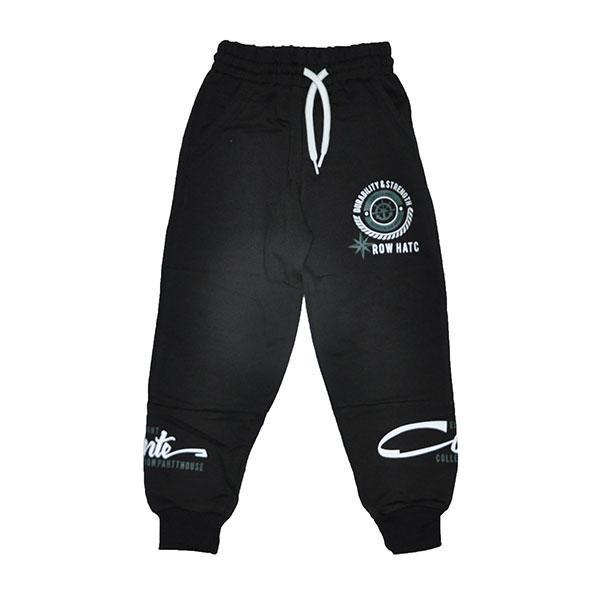 Детские трикотажные спортивные штаны, для мальчиков 5-8лет (4 ед в уп)