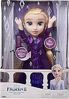 Большая поющая кукла Эльза со световыми эффектамиХолодное сердце 2Disney Frozen 2 Elsa