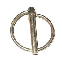 Штифт стопорный зажимной с кольцом 1/4 X 1 3/4 (3,35 х 44,45 мм), GP 805-126C