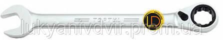 Ключ комбиннированный TopTul 17мм с трещеткой