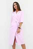 S, M, L / Вишукане вечірнє плаття на запах Barbara, рожевий