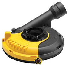 Кожух - адаптер на пылесос для угловых шлифмашин DeWalt DWE46150