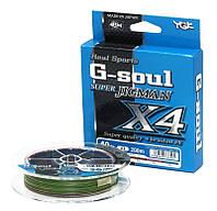 Шнур плетеный YGK Super Jig Man X4 200м #1 (8.1kg / 18lb)