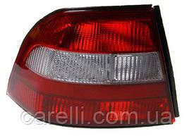 Ліхтар задній для Opel Vectra B седан/хетчбек '95-99 лівий (DEPO) червоно-димчастий