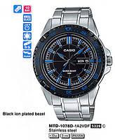 Мужские часы Casio MTD-1078D-1A2VEF оригинал
