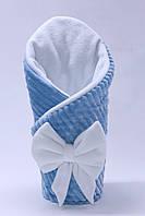 Плюшевый плед - одеяло на выписку из роддома