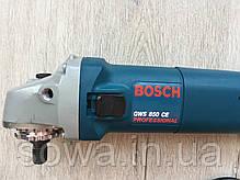 ✔️ Болгарка Bosch/Bosch GWS 850CE з регулятором обертів ( 125 мм, 850 Вт ), фото 2