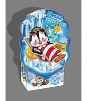 Пингвин новогодний, Картонная упаковка для конфет, 500 грамм
