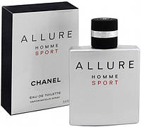 Allure Homme Sport Chanel  (Алюр Хом Спорт Шанель)  100мл