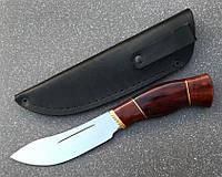 Нож туристический эксклюзивный с литьём Спутник 14, марка стали 1.4116 (длина клинка 138 мм), фото 1