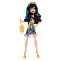 Кукла Монстер Хай Клео де Нил Страх! Камера! Мотор!(Monster High Cleo De Nile Frights! Camera! Action!)