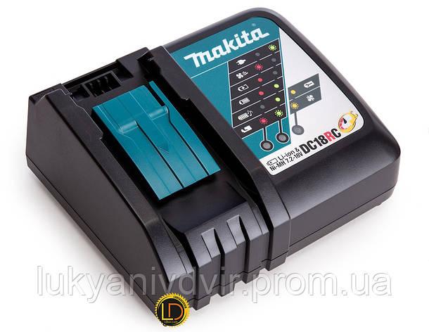 Зарядное устройство Makita DC18RC 18V, фото 2