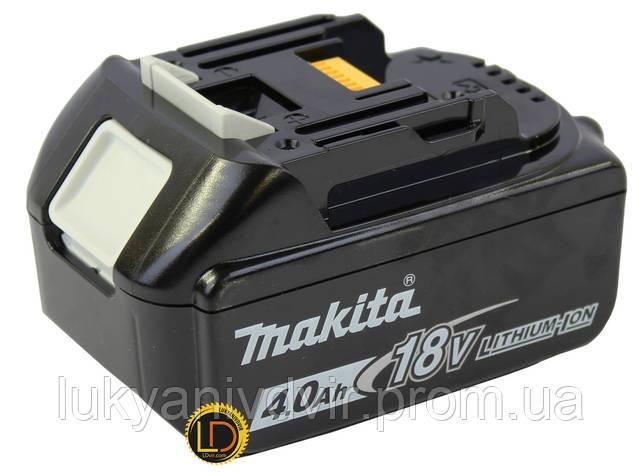 Аккумулятор Makita BL1840B, Li-Ion, 18V, 4.0 Ач, фото 2