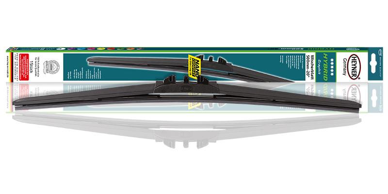 """Щітка склоочисна безкаркасна Hybrid 450-18"""" Heyner (028ART)"""