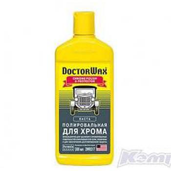 DW8317 поліроль для хромованих деталей DoctorWax 300мл