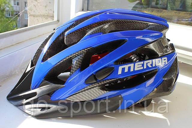 Шлем велосипедный Merida blue