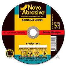 Круг шлифовальный по металу NOVOABRASIVE 1 14А 115 6,0 22,23