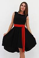 S, M, L / Вечірнє жіноче плаття Stefany, чорний