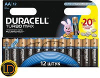 DURACELL AA LR06 MX1500 Turbo 1x12 шт.