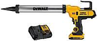 Аккумуляторный пистолет для герметика DeWALT DCE580D1