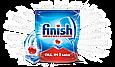 Finish All in One Max 80 tabs Финиш таблетки для посудомоечной машины Все в одном Finish All in 1, фото 2