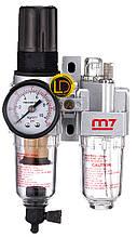 Блок подготовки воздуха рег.давления с манометром M7 1/4