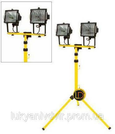 Прожектор галогеновый на штативе Vorel 400Вт, фото 2