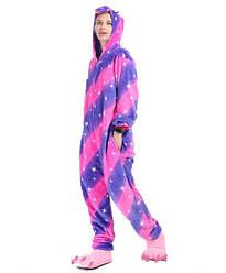 Кигуруми Единорог Галактика фиолетово-розовый