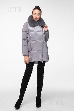 Куртка женская BATTERFLEI 1931 #оливковый, фото 2