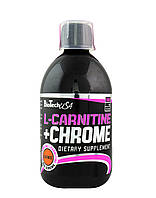 L-Carnitine 35.000 mg + Chrome concentrate BioTech USA, 500 мл Груша - яблока