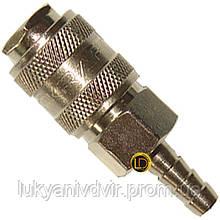 Быстроразъёмное соединение на шланг 6мм AIRKRAFT