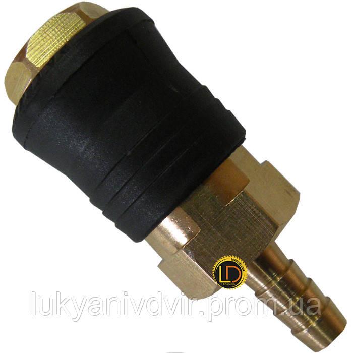 Быстроразъёмное соединение на шланг 8мм PROFI AIRKRAFT