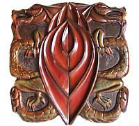 """Резные нарды """"Дракон 3D"""" эксклюзивные нарды с объемной резьбой+чехол в подарок, фото 1"""