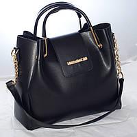Женская сумкаMi-hael Kor$ (в стиле Майкл Корс), черная