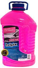 Омыватель стекла летний Bubble Gum Helpix 4л
