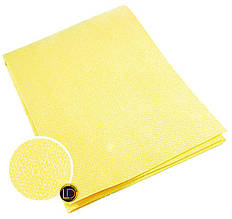 Профессиональная тряпка для авто желтая 40х50 см