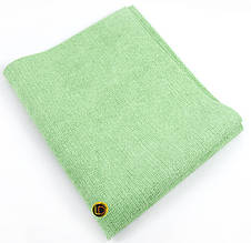 Профессиональная тряпка для авто зелёная 40х50 см