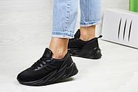 Женские кроссовки черные Adidas Sharks 7940