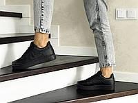 Женские кроссовки черные Nike Air Force 8506