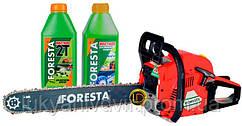 Набор бензопила ForestaFA-40S + 2 масла