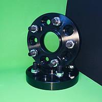 Колесные проставки-адаптеры переходники 25 мм/ psd 5x114,3/ dia 64.1 (Honda Accord)