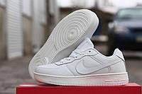 Женские кроссовки Nike Airforce белые 1769