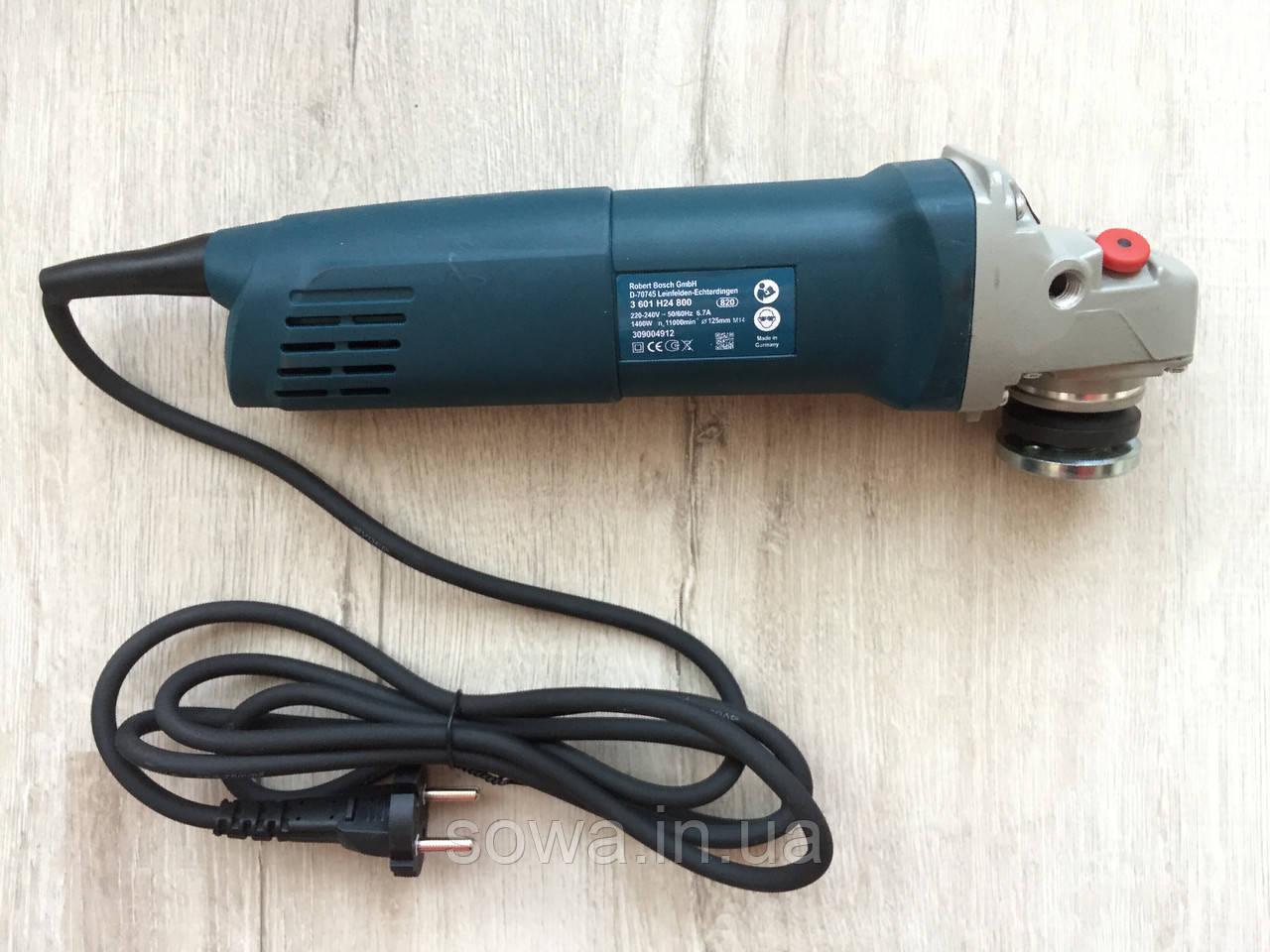 Болгарка BOSCH_ БОШ GWS1400 ( 1400 Вт, 125 мм ) + ПОДАРОК - фото 4