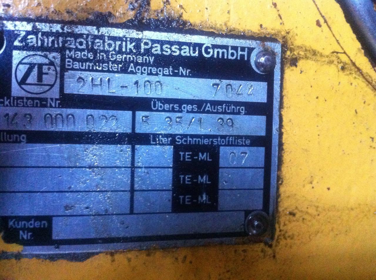 Коробка передач ZF 2hl-100 liebherr - ВАТ «SPETSTEHNIKA-IF» в Ивано-Франковской области