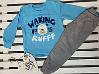 "Пижама для мальчика хлопковая ТМ ""Фламинго"" рост 98, фото 1"