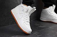 Кроссовки мужские Nike Lunar Force 1 белые 4356